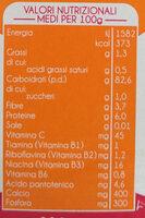 crema di cereali - Nutrition facts - it