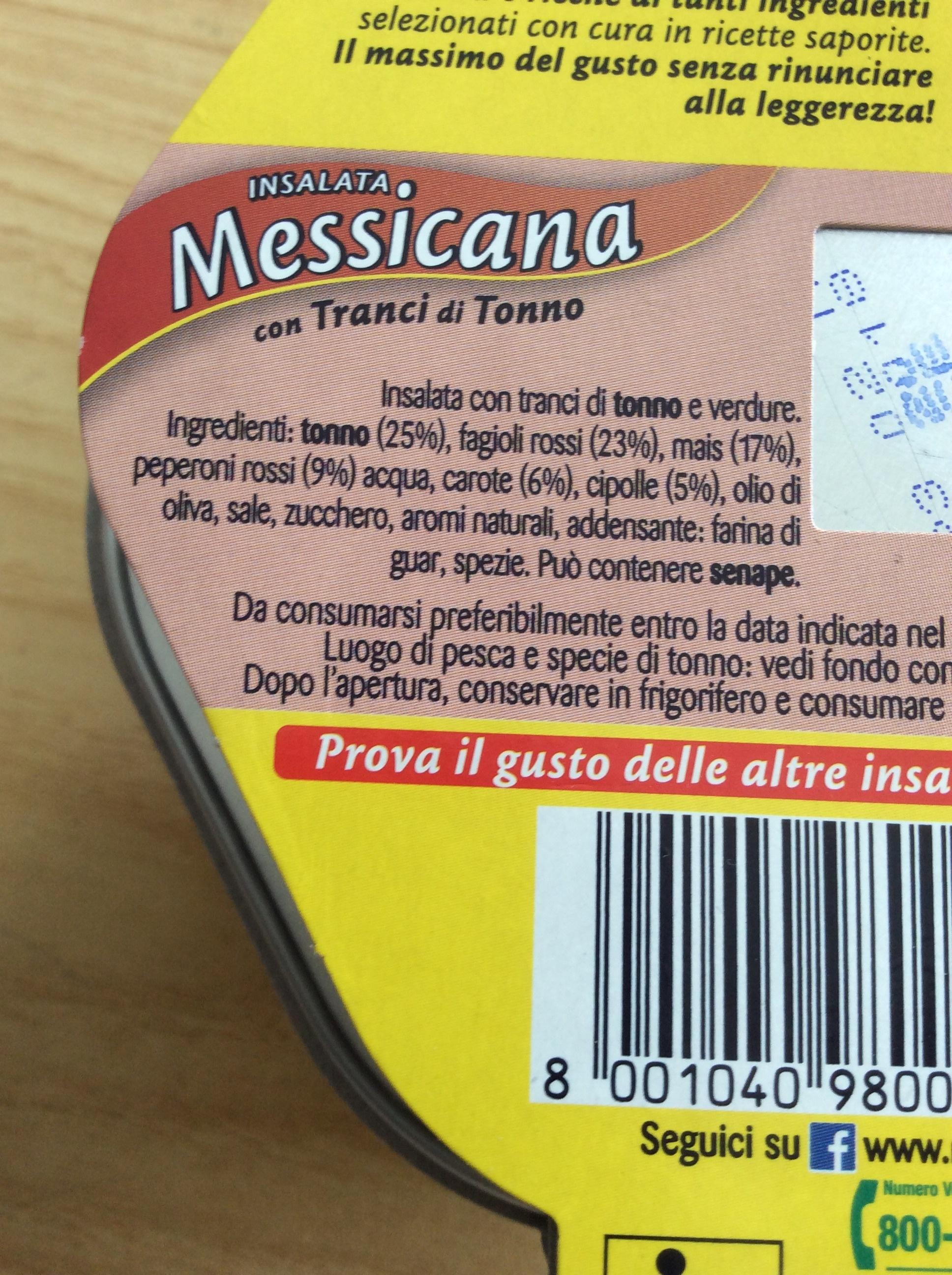 Mareblu Insalata Messicana - Ingredients - it