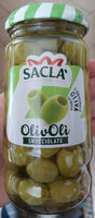 Sacla Green Pitted Olives 290G - Product - fr