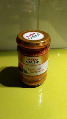 Sauce peperoni e melanzane - 1