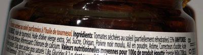 Pomodori secchi - Ingredients - fr