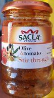 Sacla Italia Olive & Tomato Stir through - Product