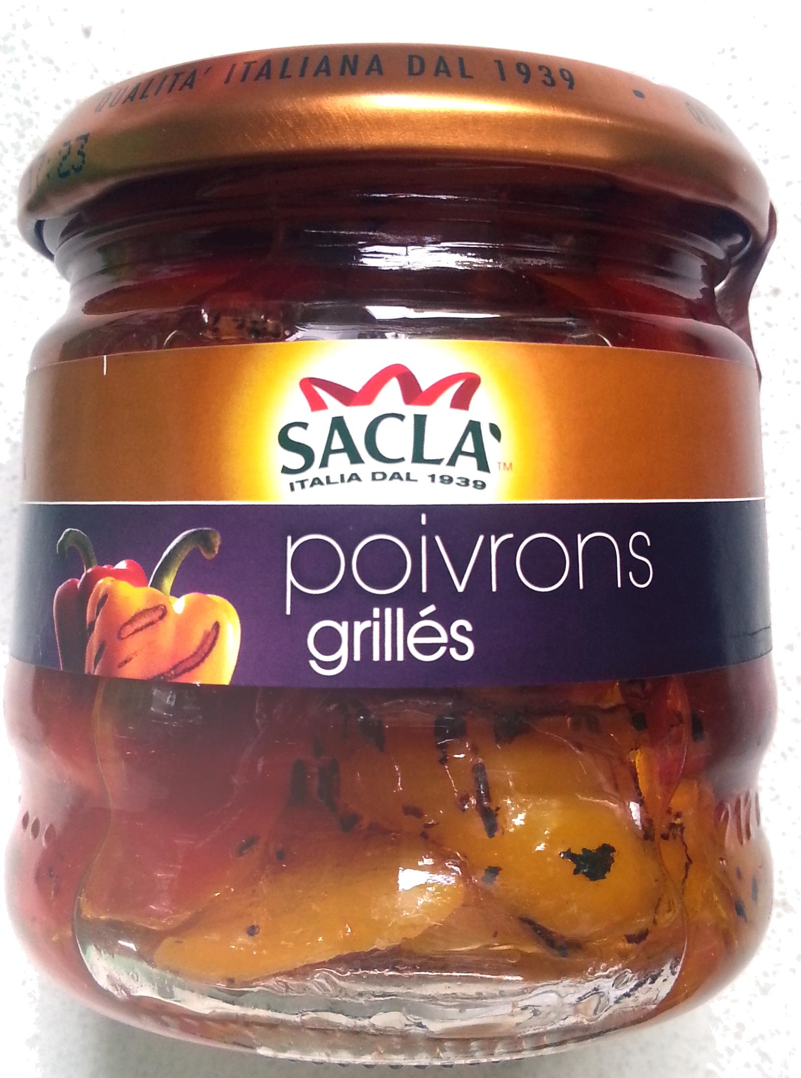 Poivrons grillés - Produit