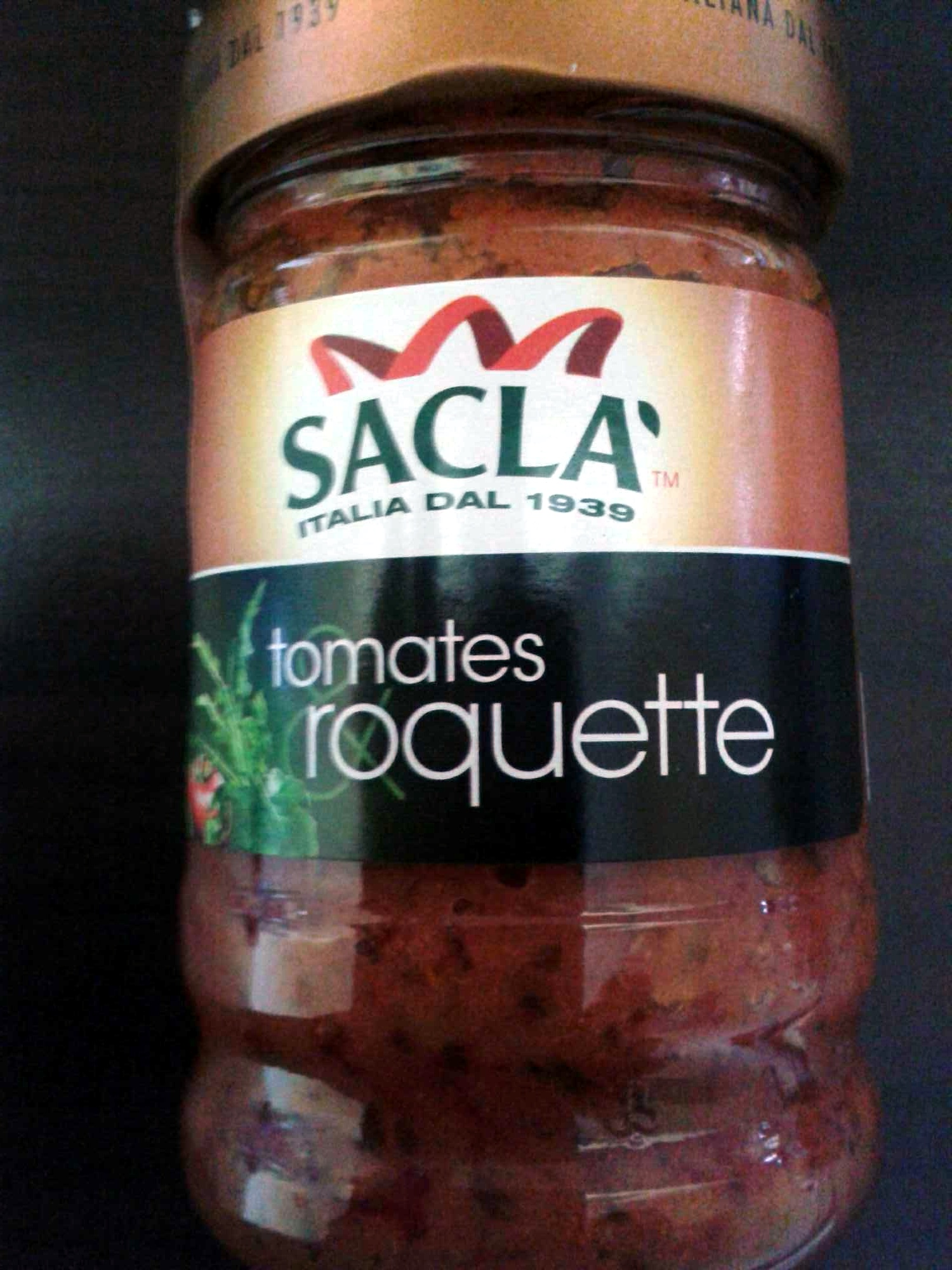 Sauce tomates roquette - Produit