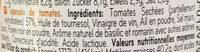 Tapenade de tomates - Ingredients - fr