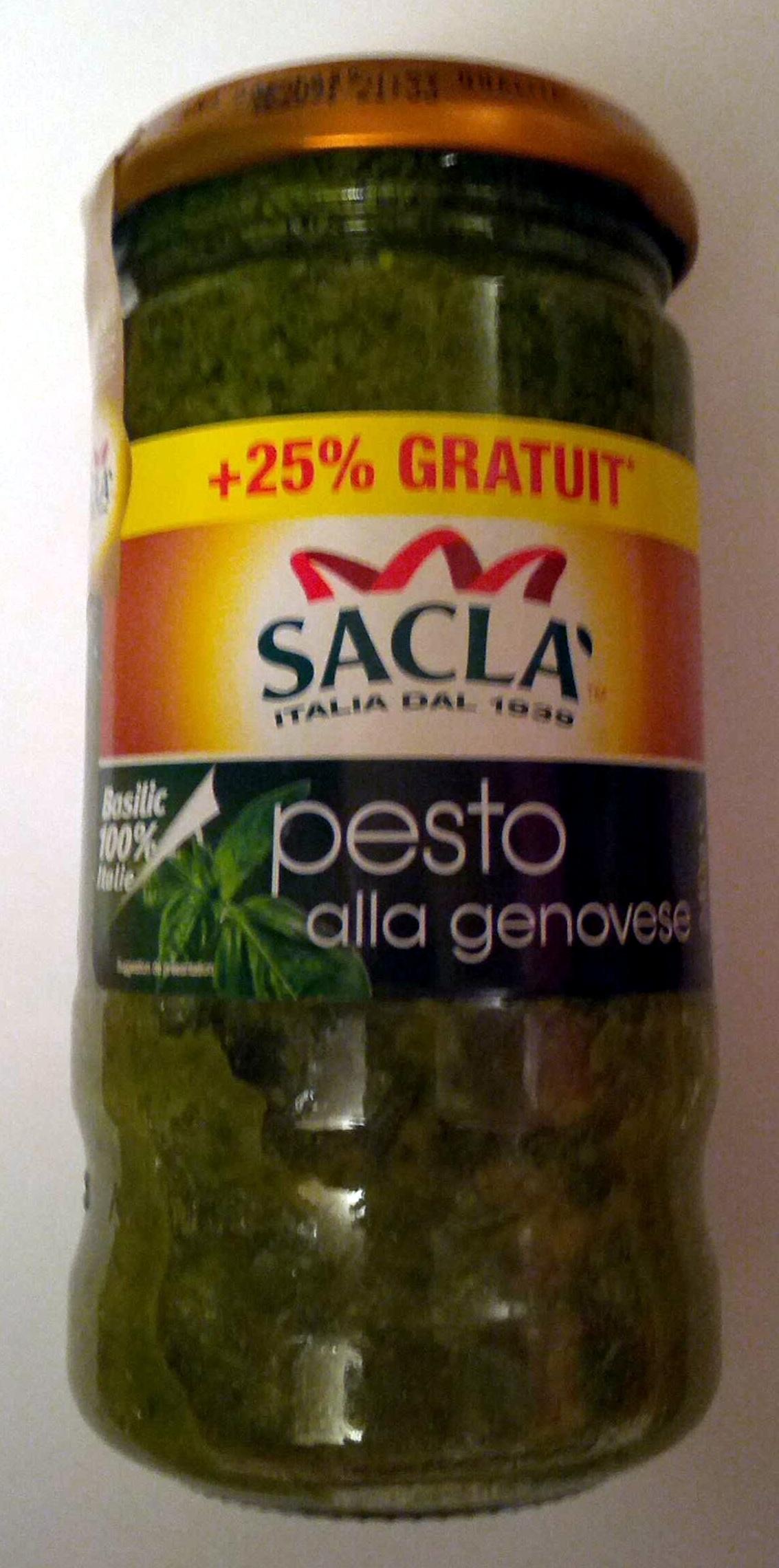 Sauce pesto alla genovese - Produit - fr
