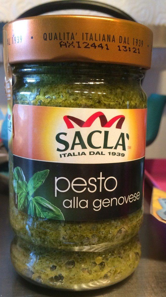 Sauce pesto alla genovese - Product - fr