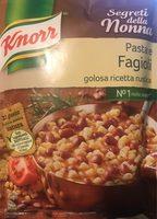 Knorr Segreti Della Nonna Pasta E Fagioli - Produit - fr