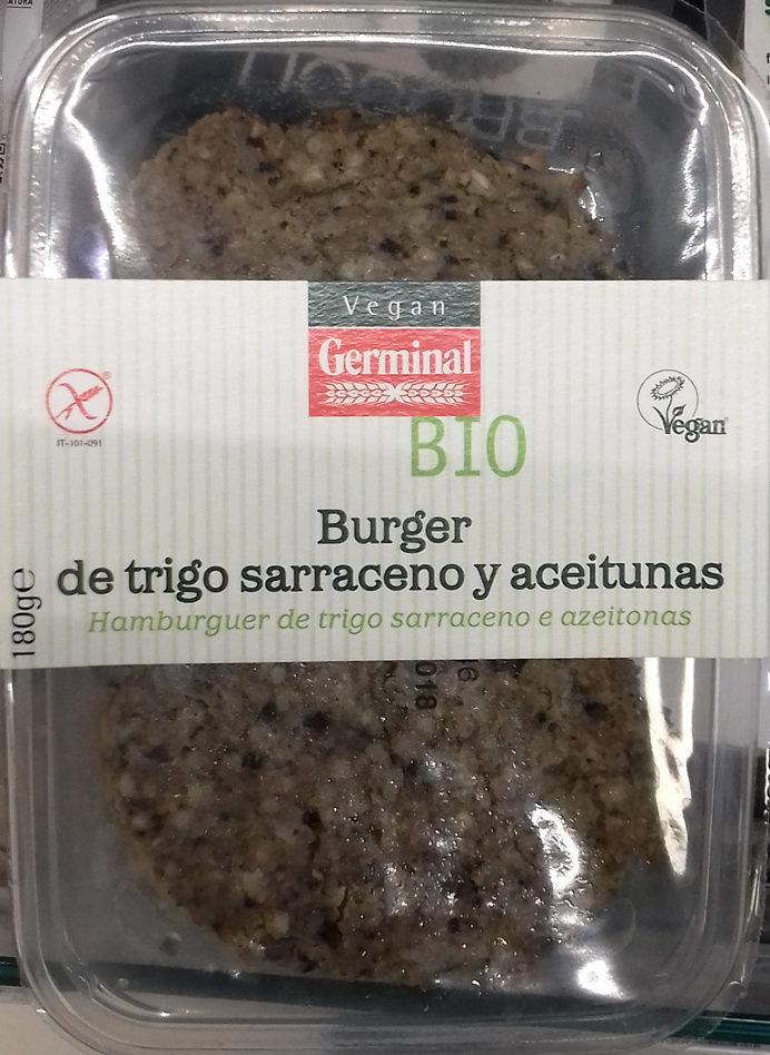 Burger de trigo sarraceno y aceitunas - Producto - es