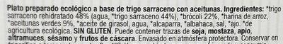 Burger de trigo sarraceno y aceitunas - Ingredientes - es