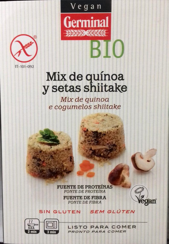 Mix de quinoa y setas shiitake - Producte