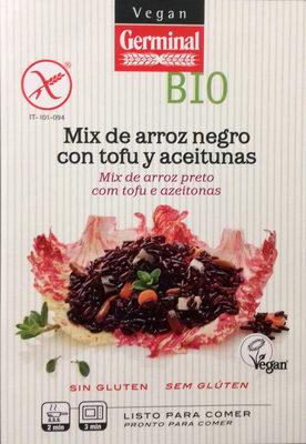Mix de arroz negro con tofu y aceitunas - Producto