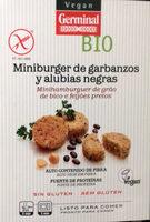 Minibugers de garbanzos y alubias negras - Produit - es