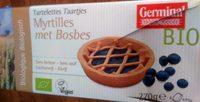 Tartelettes Myrtilles met Bosbes - Produit - fr