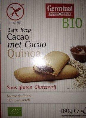 Barres quinoa fourrées au chocolat - Prodotto - fr