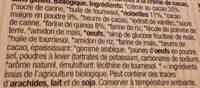 Barres quinoa fourrées au chocolat - Ingredienti - fr