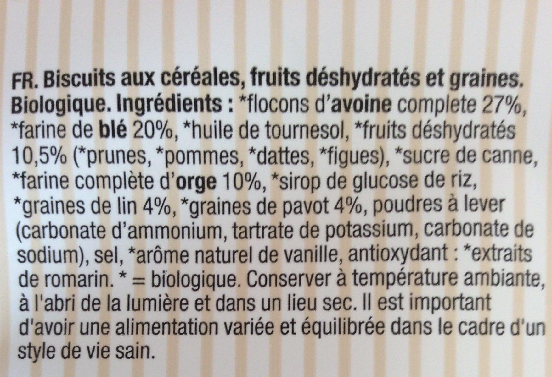 Fruits et Graines - Ingredienti - fr
