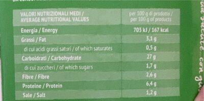 Riso nero con tofu e olive - Valori nutrizionali - it