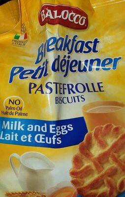 Petit-déjeuner  biscuits - Produit - fr