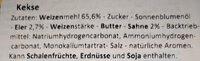 Ciambelle Biscuits - Ingredienti - de