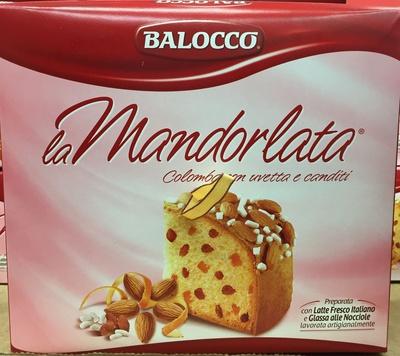 La Mandorlata - Produit