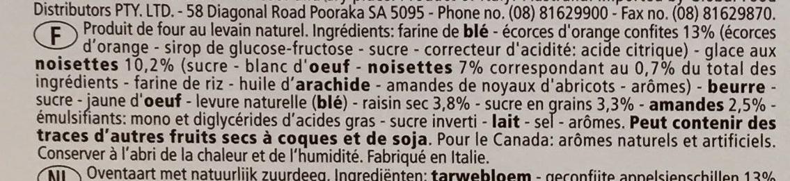 La Mandorlata - Ingrédients