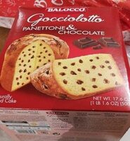 Panettone & Chocolate - Produit - fr