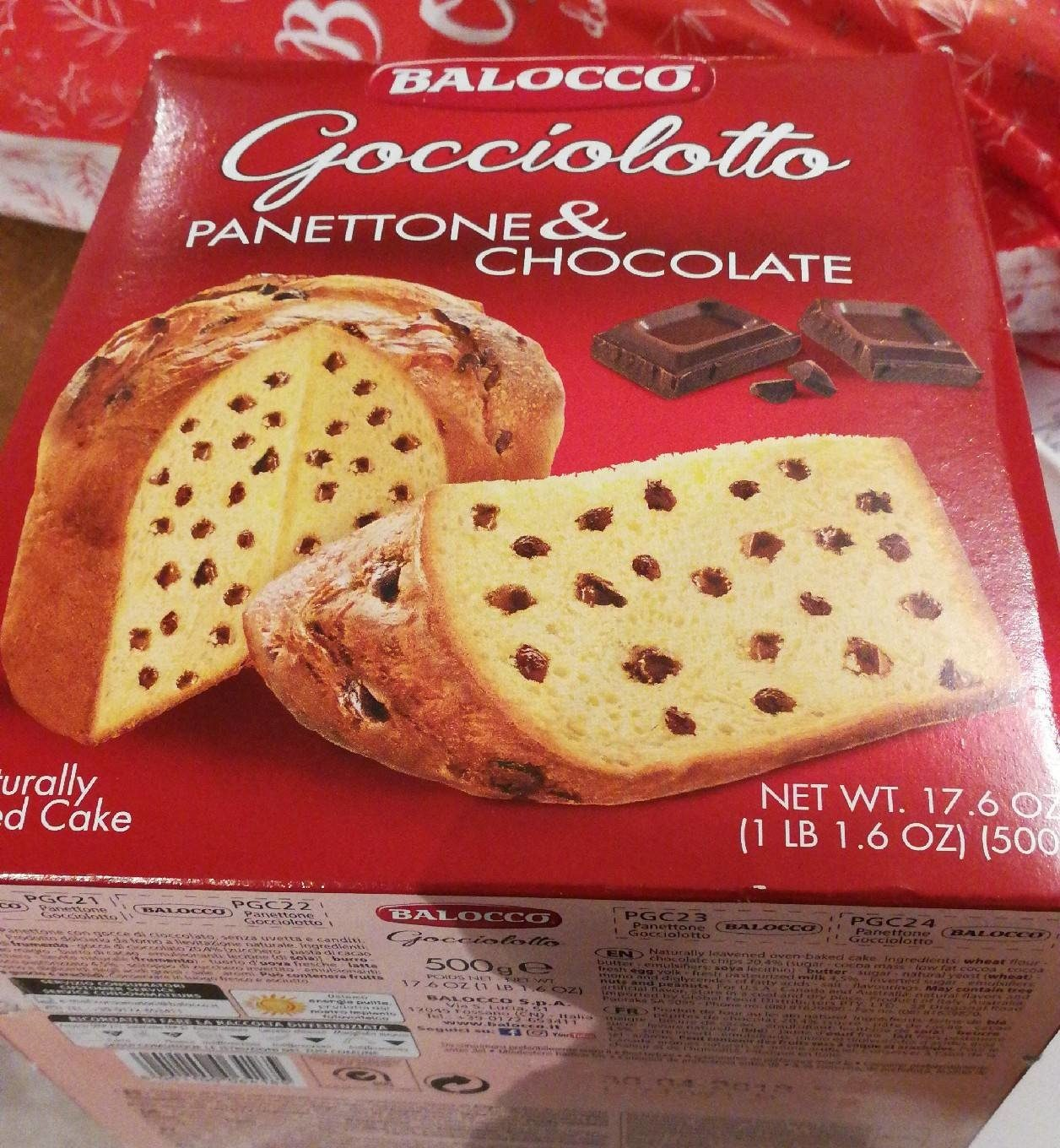 Panettone & Chocolate - Product