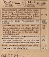 Panettone & Chocolate - Informations nutritionnelles - fr