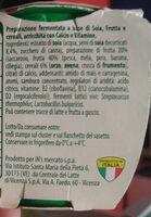 soia 100% vegetale frutta e cereali - Ingredients - it