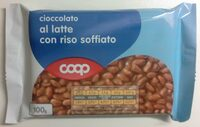 Cioccolato al latte con riso soffiato - Product - it