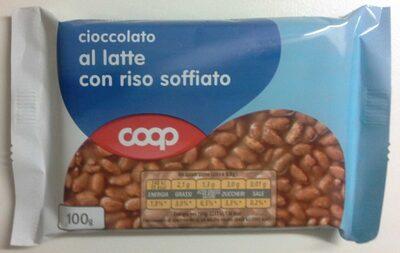 Cioccolato al latte con riso soffiato - Product