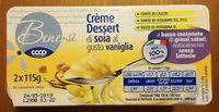 Crème Dessert di soia al gusto vaniglia - Prodotto