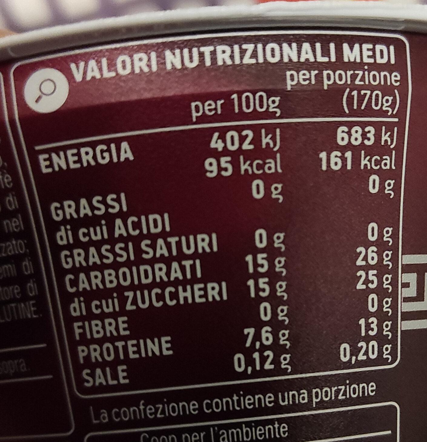 Yogurt Greco solo latte fresco greco al caffè - Nutrition facts - it