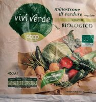 Minestrone di verdure surgelate - Product - it