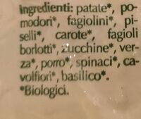 Minestrone di verdure surgelate - Ingredients - it