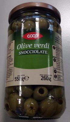 Olive verdi snocciolate - Produto