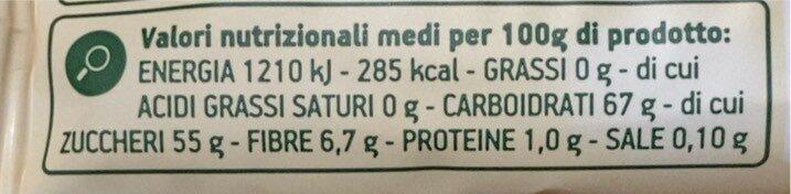Morbido snack all'albicocca - Informazioni nutrizionali - it