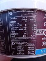 Yogurt Greco Magro - Nutrition facts - it