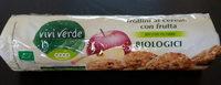 Frollini ai cereali con frutta - Prodotto - it