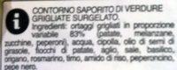 Contorno saporito verdure - Ingrédients - it