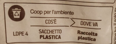 Minestrone di verdure surgelato - Istruzioni per il riciclaggio e/o informazioni sull'imballaggio - it