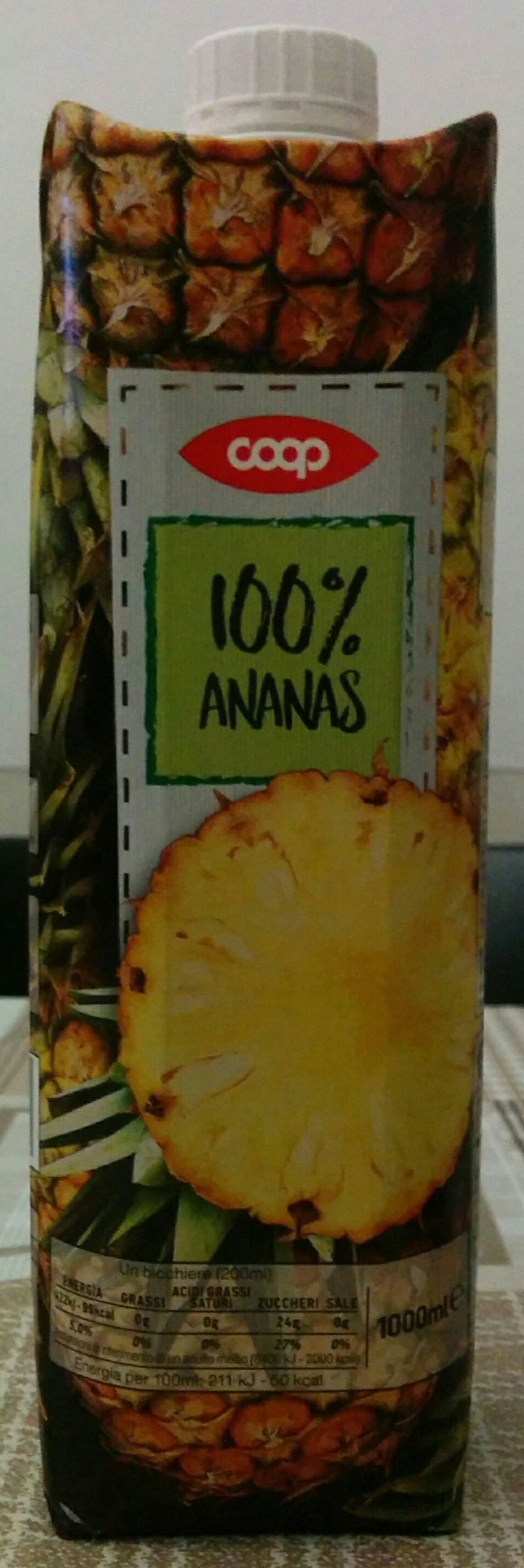 100% Ananas - Product - it