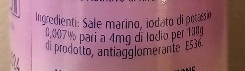Sale iodato italiano - Ingredients - it