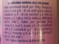 Sale iodato italiano - Nutrition facts - it