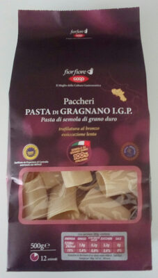 Paccheri Pasta di Gragnano IGP - Produkt - it