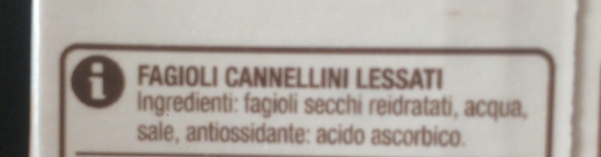 Fagioli cannellini - Ingrédients - fr
