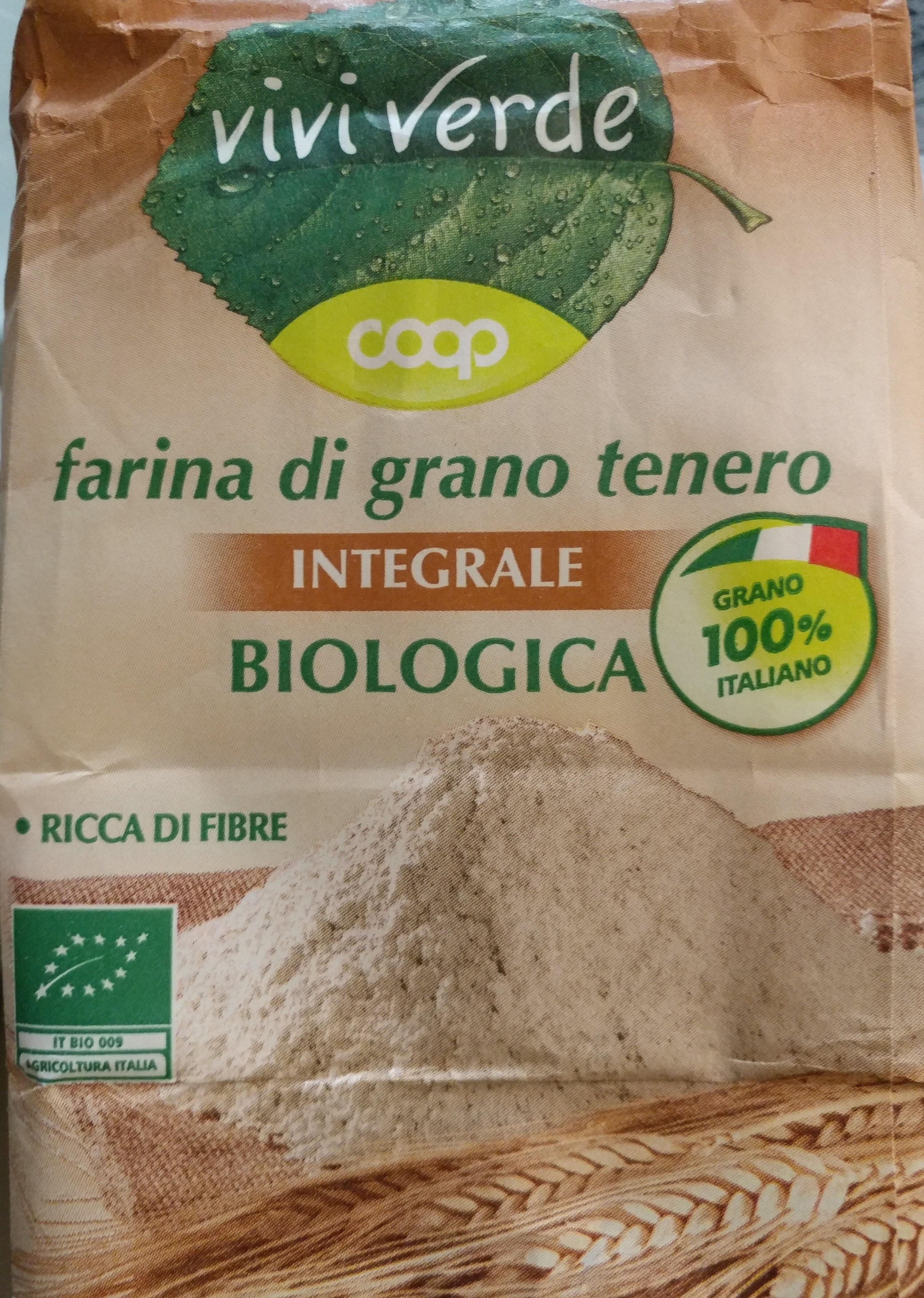 farina di grano tenero integrale biologica - Product - it