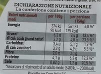 Insalata mista pronta da condire GRECA - Informations nutritionnelles - it