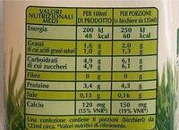 Latte microfiltrato biologico - Informations nutritionnelles - it